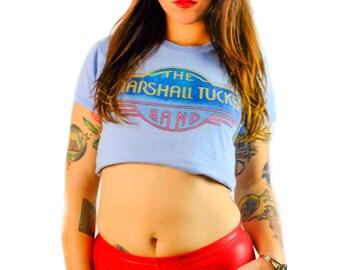 Vintage Marshall Tucker Band Shirt 80s Tee Concert Tour Concert tee Concert shirt Soft Thin