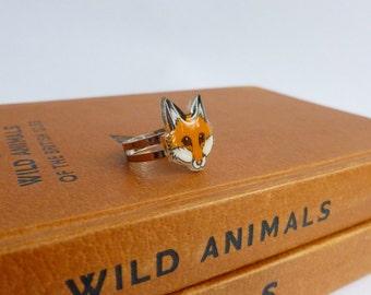 Fox Ring Red Fox Ring Jewellery