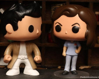 Asylum Castiel - Custom Funko pop toy