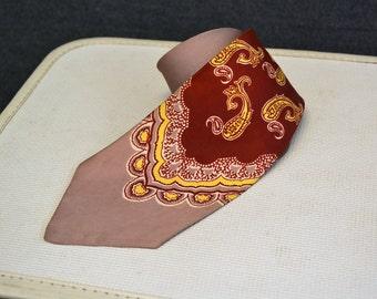 1940s Archdale Silk Necktie