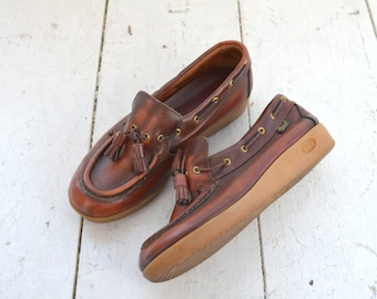1970s Bass Leather Loafers