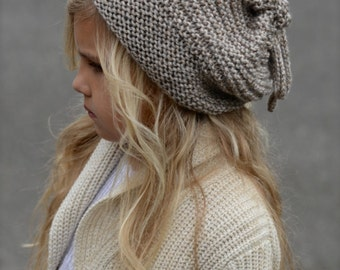 KNITTING PATTERN - Gypsy Soul Slouchy/Cowl (Small, Medium, Large sizes)