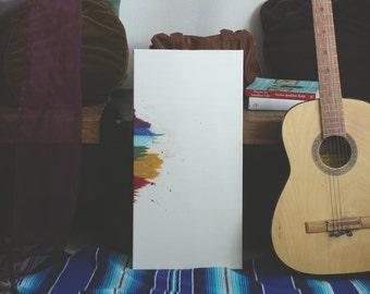 Spectrum // Abstract Rainbow Painting / Wall Art / Decor