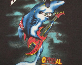 GREAT WHITE vintage 1987 tour T SHIRT