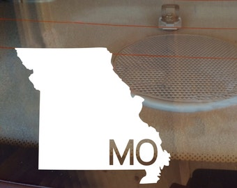 Missouri Car Decal, State Decal, Missouri Decal, Laptop Decal, Laptop Sticker, Car Sticker, Car Decal, Vinyl Decal, MO, Window Sticker