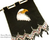 Beaded Eagle Tapestry SALE