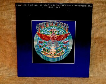 Nuggets: Original Artyfacts From the First Psychedelic Era - 1965-1968 - 1972 Vintage Vinyl 2 lp Gatefold Record Album