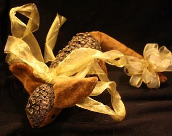 Jewel-Covered Armadillo Plushie