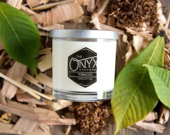 Cherry Pipe Tobacco Scented - 7 oz. Soy Wax Candle