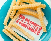 French fry Soap - man gift - french fries - fake food soap - Diner food soap - Carnival soap - state fair soap