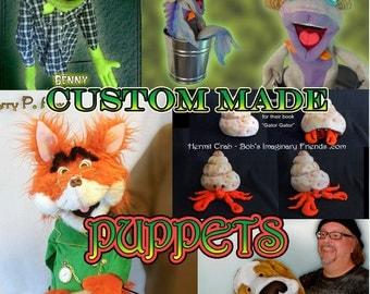 Custom Made Puppets