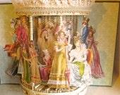 Pride and Prejudice altered book in (beautiful gazebo style repurposed Jane Austen book)