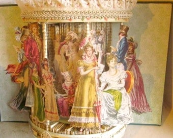 Pride and Prejudice altered book in (beautiful gazebo style repurposed Jane Austen book)