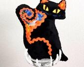 Fraidy Cat Halloween Plush Pumpkin Patch Muertes