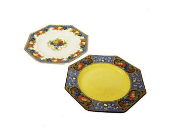 Talbot Ware Art Deco Pottery Plates c.1920s