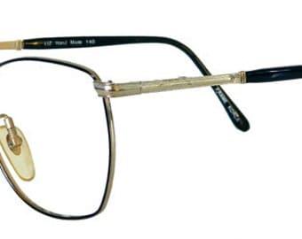 Vintage 1980s Black Wire Eyeglass Frames Never Used