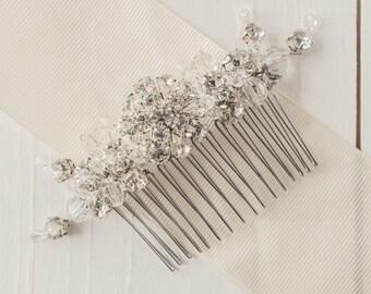 Diamante and Crystal Bridal Comb 'Morgan'