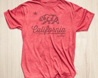 California Shirt, California Flag Shirt