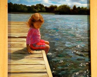 Comission a portrait of your child