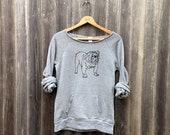 my faithful Bulldog Sweatshirt, Bulldog Sweater, Dog Shirt, S,M,L,XL