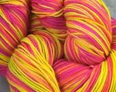 FLAMINGO FLAMBÉ superwash merino sock yarn