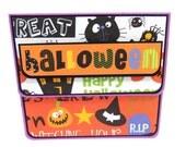 Halloween Gift Card Holder, Gift Card Envelope, Gift Card Box, Money Holder
