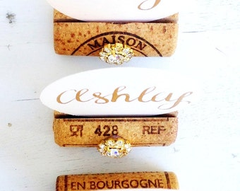 Place Card Holder Gold, Holiday Place Card Holder, Place Card Holder Wedding, Place Card Holder, Place Card Display, Wine Tasting Party