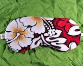 Hawaiin, Hibiscus, sleep mask