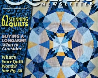 Quilter's Newsletter Magazine, Issue No. 441, August/September 2014