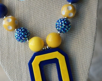 Olentangy Braves Chunky Necklace