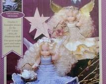 "Fibre Fiber Craft ARIEL 5 3/4"" Air Freshener Doll - Crochet Doll Dress Clothes Clothing Pattern"