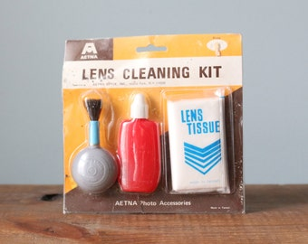 Vintage Aetna Camera Lens Cleaning Kit -- New Old Stock
