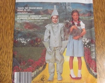 Wizard of Oz Costumes - Dorothy & Tin Man - Adult Size Small - UNCUT Sewing Pattern McCalls 2202