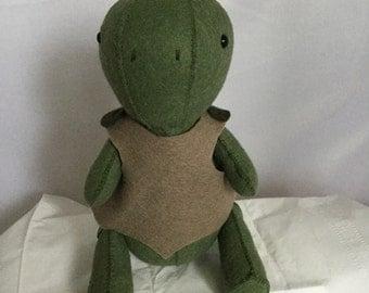 Wool felt stuffed Turtle