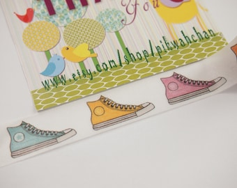 All Star Converse Sneaker Washi Tape (10M)