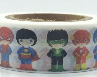 Superhero Washi Tape (10M)