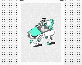 Roshe Run - Giclée Print by Tim Easley