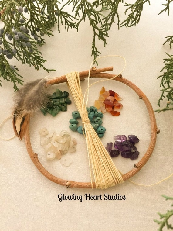 DIY Dream Catcher Kit - small natural orgainic willow hoop ...