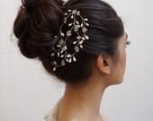 Crystal Comb, Crystal Hair Vine, Rhinestone Hair Vine, Rhinestone Bridal Comb, Crystal Bridal Comb, Bridal Comb, Crystal Hair Comb, Beaded