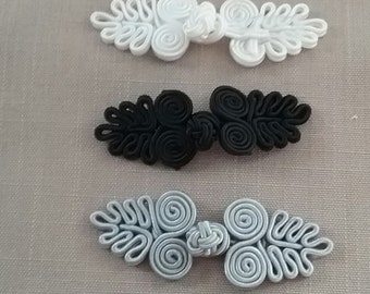 Chinese  frog closure button knots