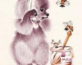 Vintage Postcard by L. Razgulyaeva -- 1985