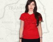 Blood Molecule T-Shirt - Red