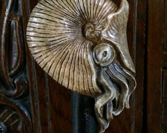 Nautilus Cane, natural finish