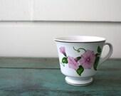 Teleflora Morning Glory Teacup, Vintage Teacup, Collectible