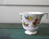 Canadian Souvenir Royal Albert Teacup, Vintage Teacup, Collectible