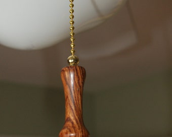 Handcrafted Bolivian Rosewood Chain Pull