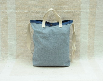 Vintage Levi's Denim Tote / Shoulder Bag