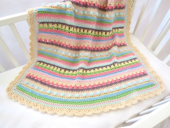 Crochet Baby Blanket Patterns Worsted Weight Yarn : Baby Blanket Pattern Crochet Baby Blanket Pattern CROCHET