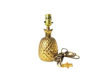 Brass Pineapple Lamp Gold Pineapple Lamp Pineapple Home Decor Brass Pineapple Lamp Brass