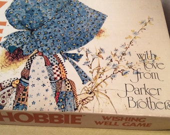 Holly Hobbie Wishing Well Vintage Game 1971